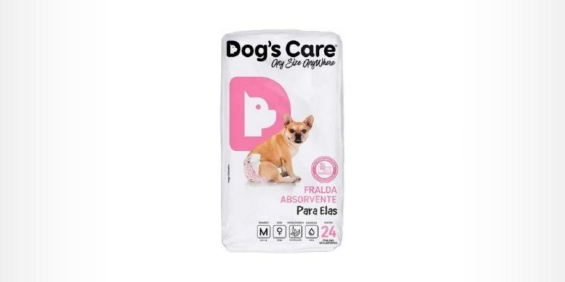 melhores fraldas para cachorro